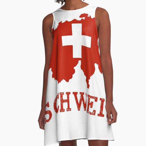 Schweiz A-Line Dress