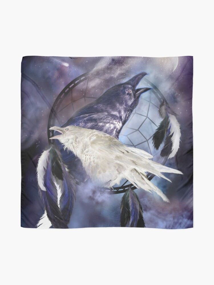 Alternate view of Dream Catcher - Legend Of The White Raven Scarf