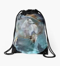 Mochila saco Dream Catcher - Spirit Of The White Wolf