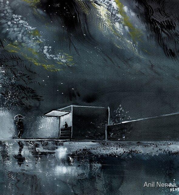 Night Out by Anil Nene