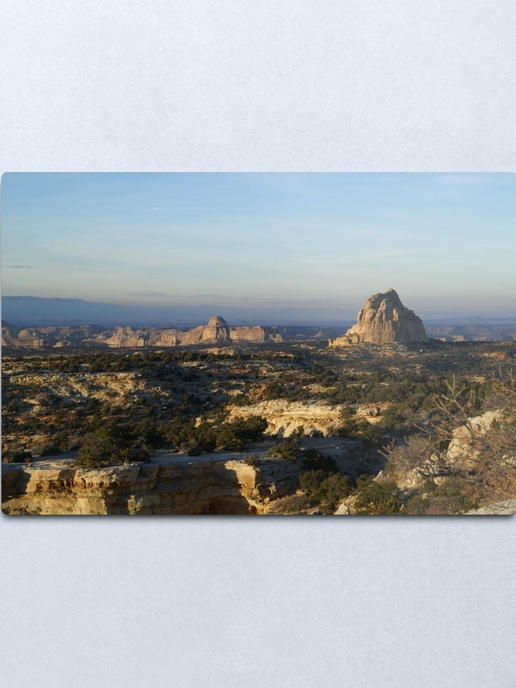 Alternate view of Utah Metal Print