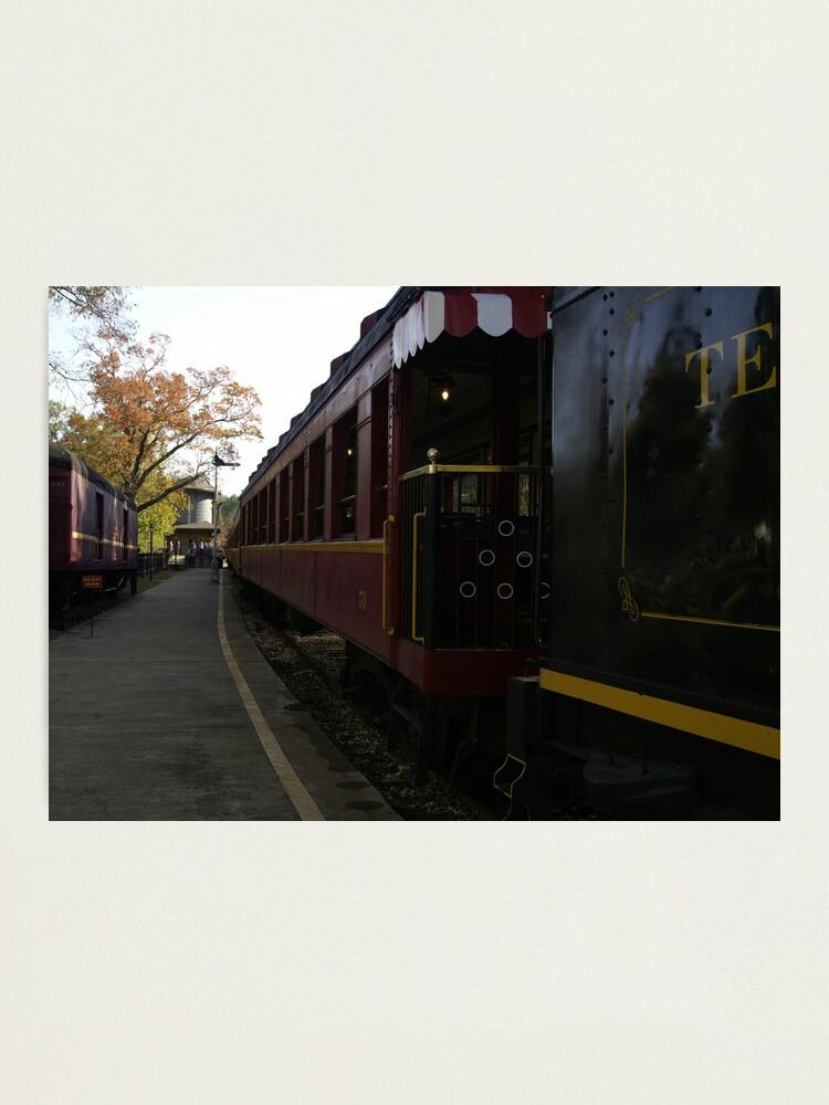 Alternate view of Texas Railroad Photographic Print