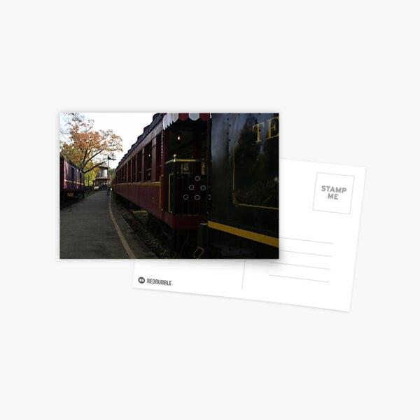 Texas Railroad Postcard