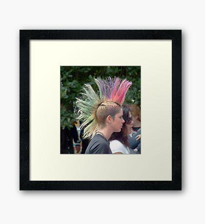 Headshot 2 Framed Print