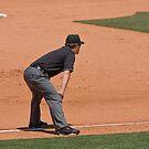 Third Base Umpire - A lonely job...but somebody has to do it! by Buckwhite