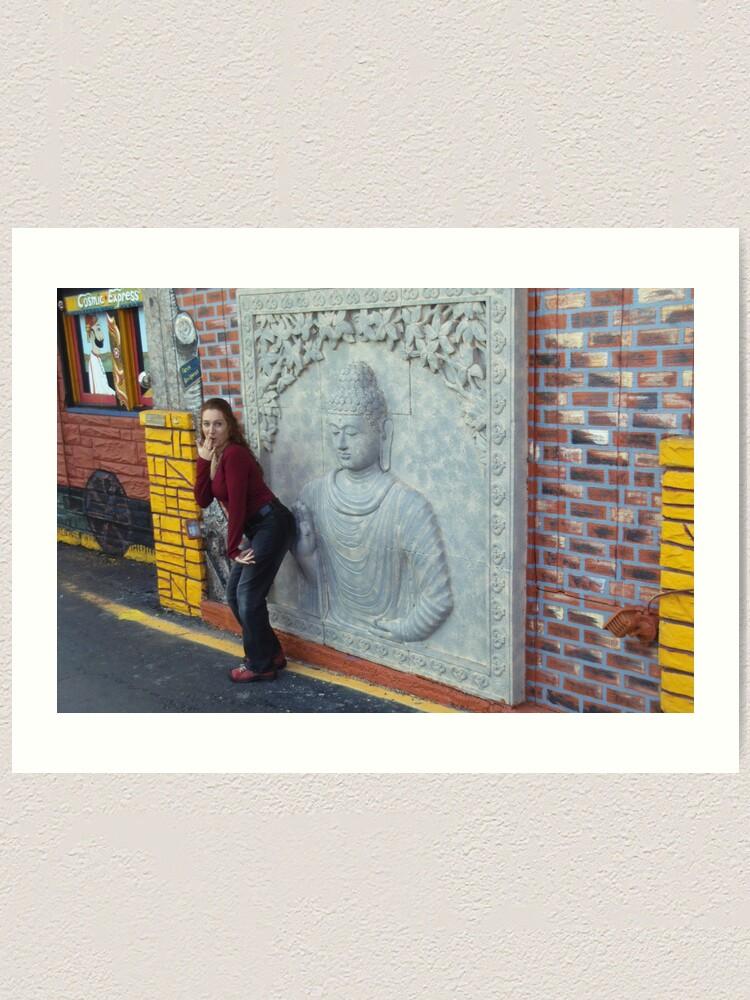 Alternate view of Buddha Hand Art Print