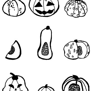 Halloween Pumpkins by Itzmiri