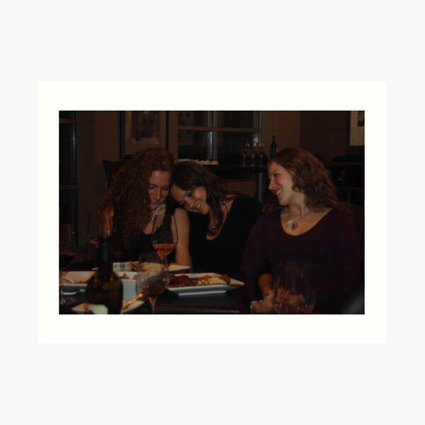 Wine and Women Art Print