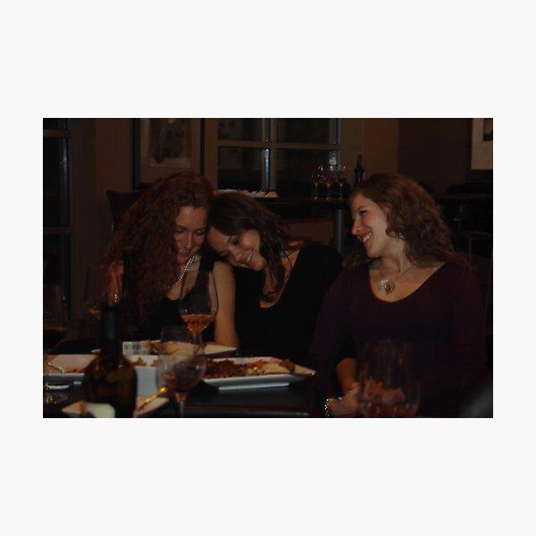 Wine and Women Photographic Print