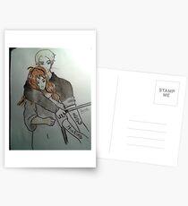 Dramione fanart Postcards