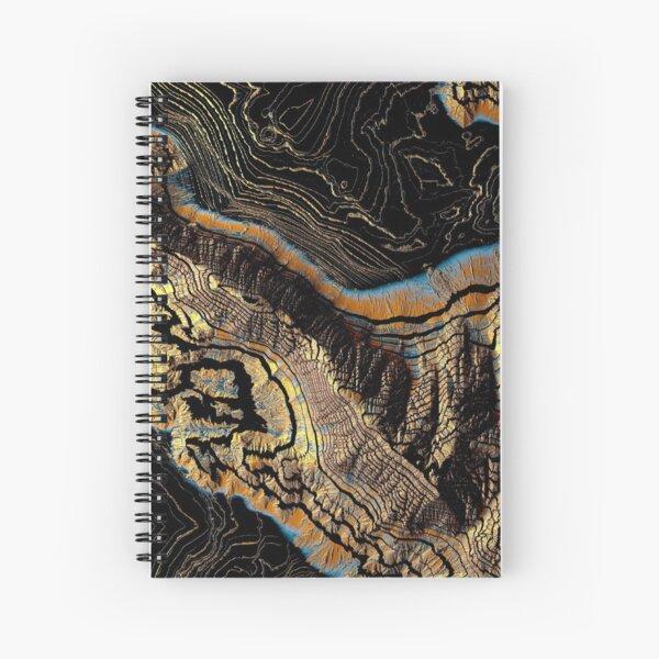 Golden Canyons Spiral Notebook