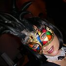 Masked Woman by redwave