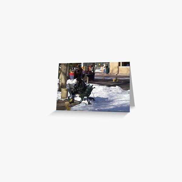 High Tech Winter Gear Greeting Card