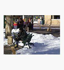 High Tech Winter Gear Photographic Print