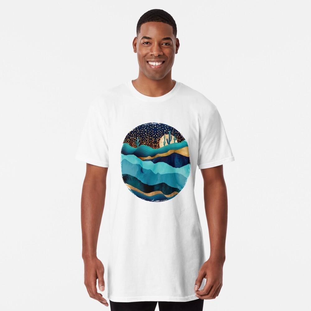 Indigo Desert Night Long T-Shirt