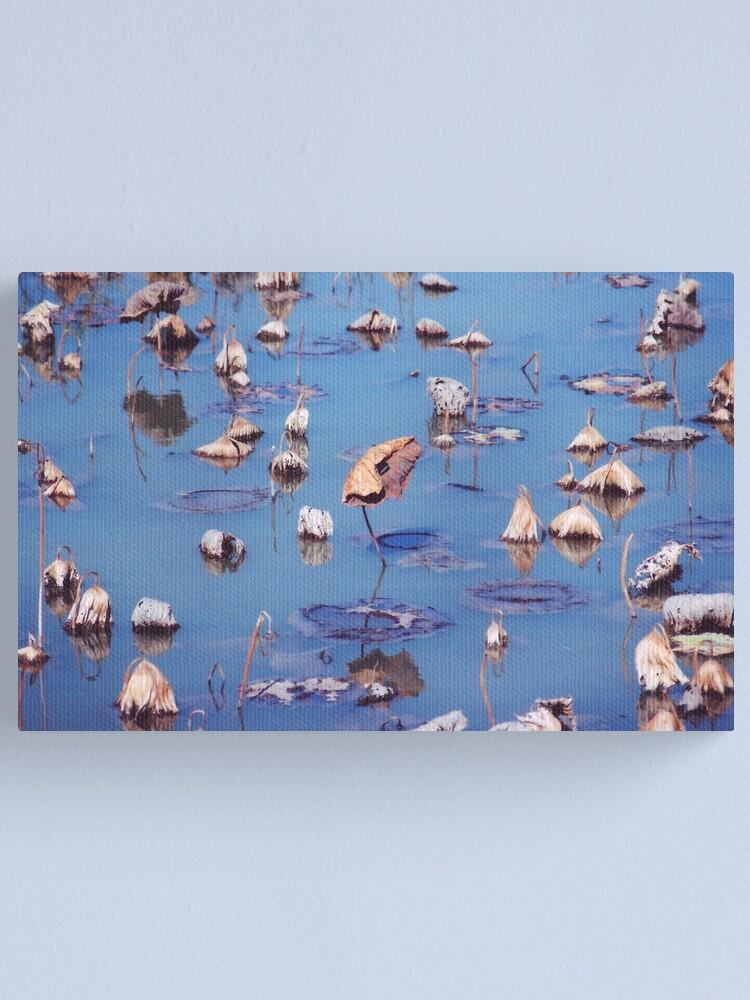 Alternate view of River Lotus Canvas Print
