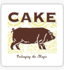 Cake - Prolonging the Magic Sticker