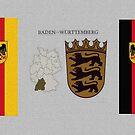 Baden Württemberg Coat of Arms  by edsimoneit
