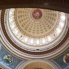 Wisconsin Capitol Building Rotunda 1 by rvjames