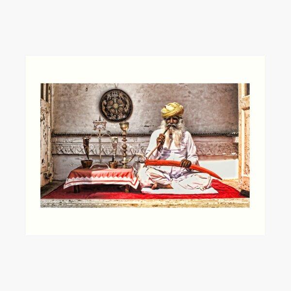 Opium Man - India Art Print