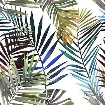Tropical palm leaves by creative97