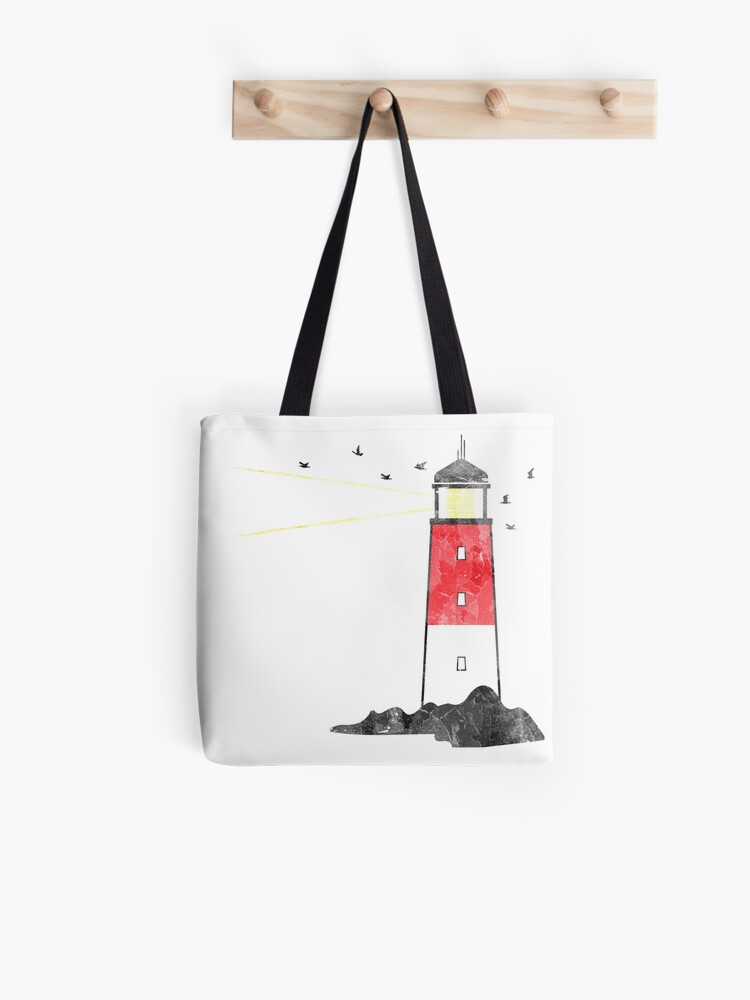 Drawstring Backpack Lighthouse And Hope Shoulder Bags
