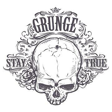 Skull - stay true by Bridde21