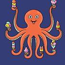Octopus Ice cream by coffeeman