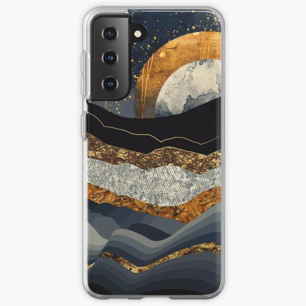 Metallic Mountains Samsung Galaxy Soft Case