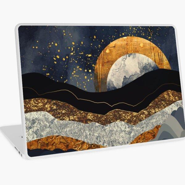 Metallic Mountains Laptop Skin