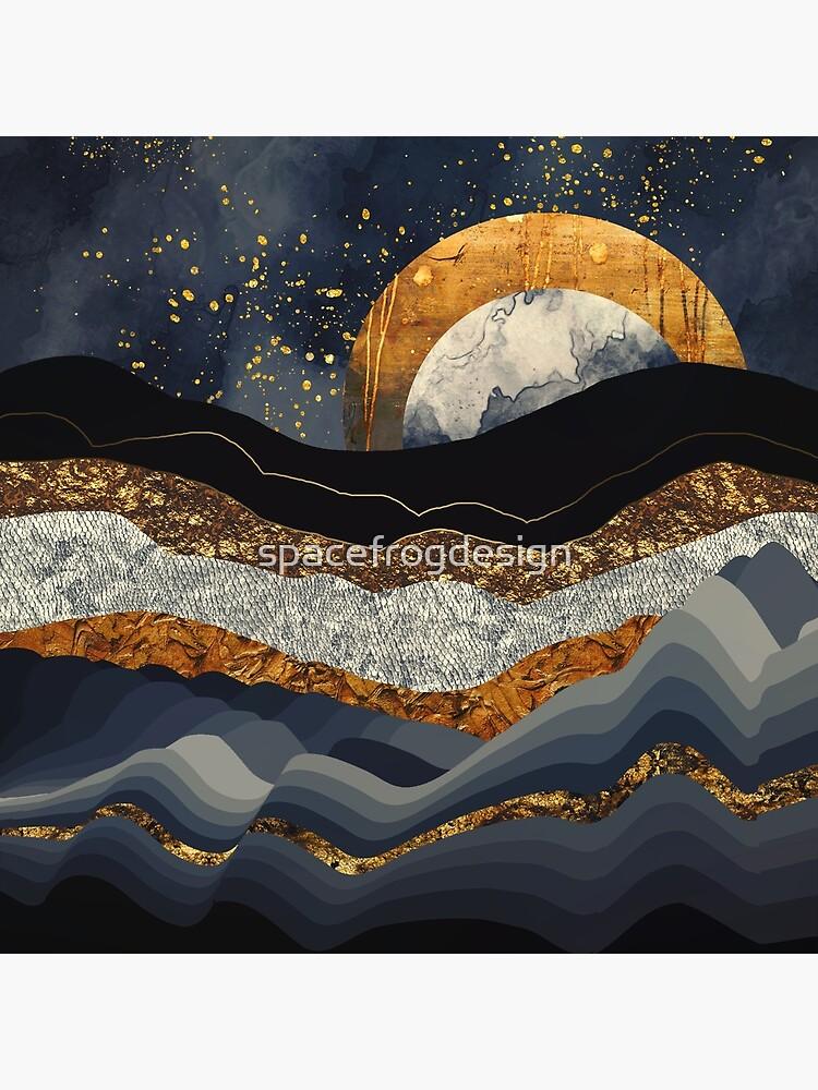 Metallische Berge von spacefrogdesign