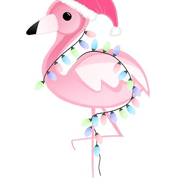 Christmas Flamingo by JTBeginning-x