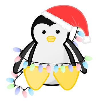 Cute Christmas Penguin by JTBeginning-x