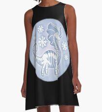 Aurorus skeleton A-Line Dress