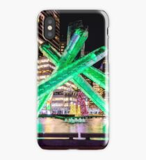 Olympic Cauldron at Night, Canada Place iPhone Case/Skin