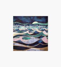 Mondlicht Ozean Galeriedruck