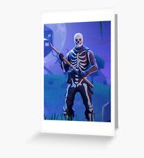 Skull Trooper Greeting Card