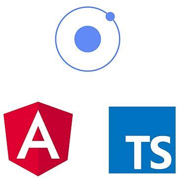 ionic angular typescript logo set de yourgeekside