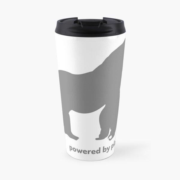 powered by plants - gorilla Travel Mug