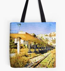 Catanzaro: railway station Tote Bag