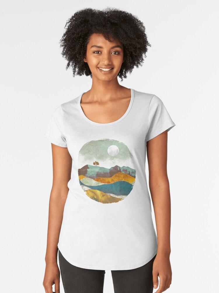 Night Fog Women's Premium T-Shirt Front