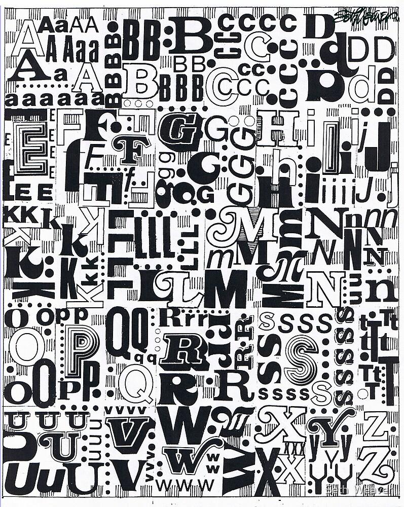 Alphabet Soup by Seth  Weaver