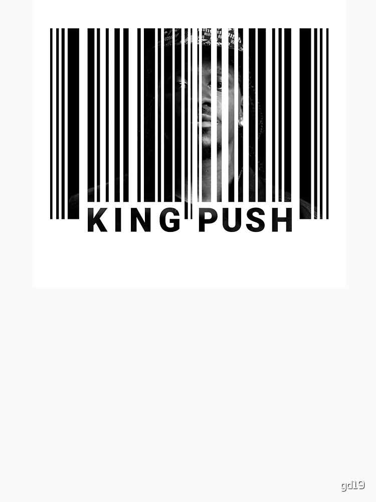 Pusha T - King Push / My name is my name bar code blend by gd19