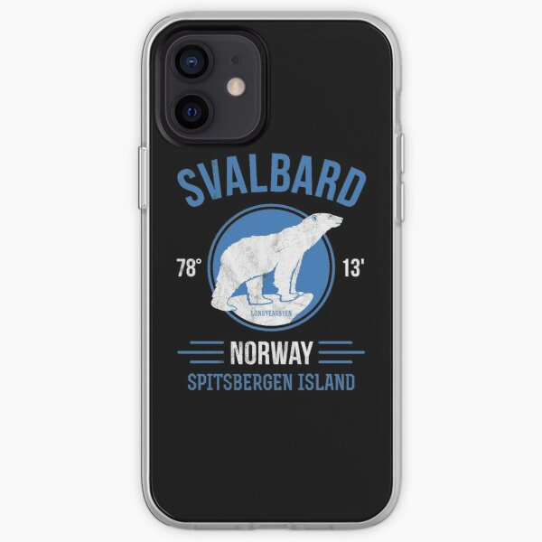 Svalbard Eisbär - Longyearbyen Norwegen iPhone Flexible Hülle