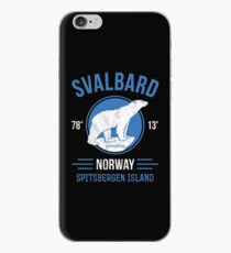 Svalbard Polar Bear - Longyearbyen Norway iPhone Case