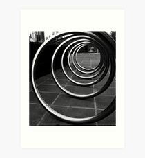 Moving in Circles Art Print