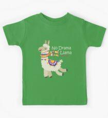 No Drama Llama Kids Tee