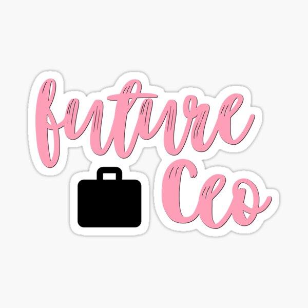 Future CEO Sticker
