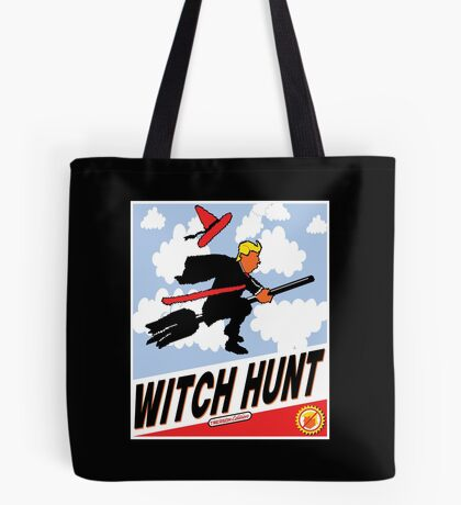 Witch Hunt Trump Treason Edition T-shirts Tote Bag