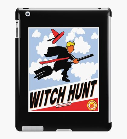 Witch Hunt Trump Treason Edition T-shirts iPad Case/Skin
